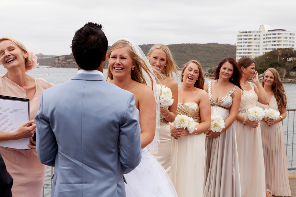 Wedding in Manly